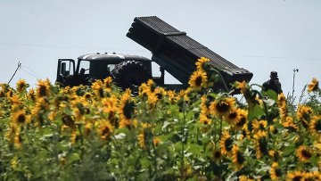 Украинские военные в районе города Северск, 11 июля 2014