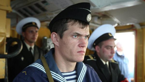 Служащие Балтийского флота РФ