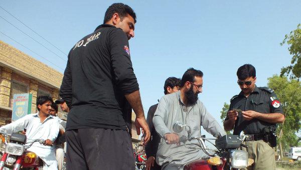 Пакистанская полиция. Архивное фото