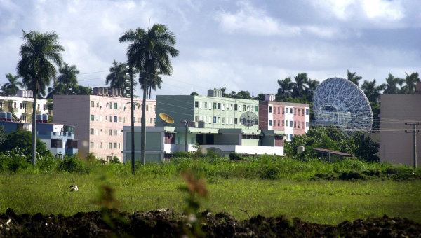 Радиолокационная станция в Лурдесе, Куба. Архивное фото