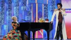 Певцы Ирина Билык и Филипп Киркоров выступают на открытии XXIII Международного фестиваля искусств Славянский базар