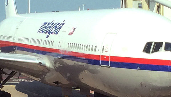 Фото Boeing 777 компании Malaysia Airlines в Схипхоле. Архивное фото.