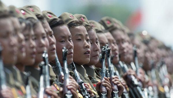 Военнослужащие КНДР. Архивное