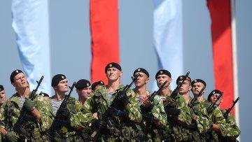 Морские пехотинцы в Севастополе. Архивное фото