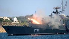 Малый противолодочный корабль МПК-118 (Суздалец). Архивное фото