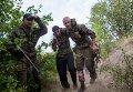 Бой за приграничное село в районе города Снежное в Донецкой области