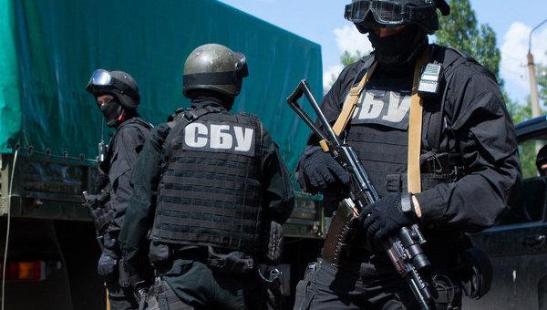 Сотрудники Службы Безопасности Украины. Архивное фото