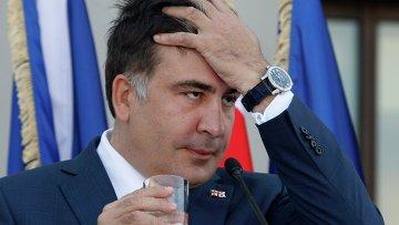 Экс-президент Грузии Михаил Саакашвили. Архивное фото