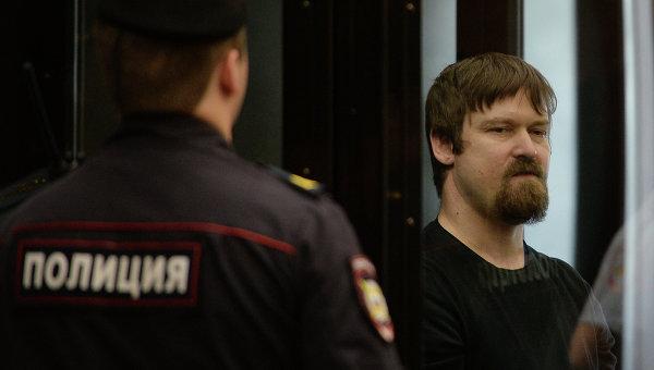Обвиняемый в подготовке массовых беспорядков оппозиционер Леонид Развозжаев. Архивное фото