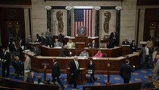 Конгресс США разрешил подать в суд на Обаму. Кадры голосования