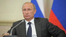 Президент РФ Владимир Путин, архивное фото
