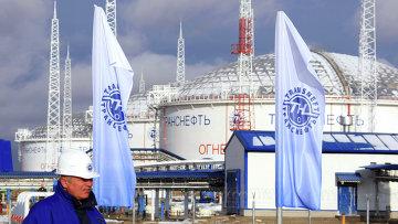 Нефтеперекачивающая станция компании Транснефть