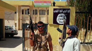 Боевики Исламского государства в Ираке