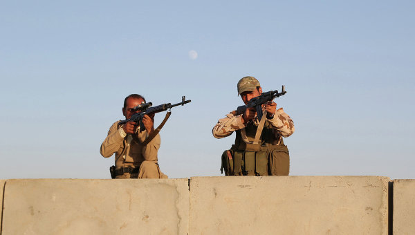 Курдские боевики. Архивное фото