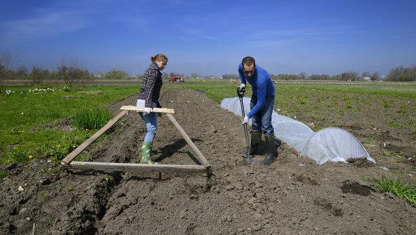 Латвийские крестьяне. Архивное фото