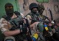 """Солдаты украинской армии из батальона """"Донбасс"""""""