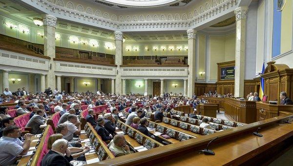 Заседание Верховной Рады Украины. Архивное фото