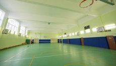 Спортзал в школе. Архивное фото