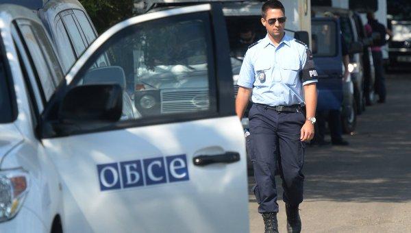 Эксперты и представители ОБСЕ на Украине, архивное фото