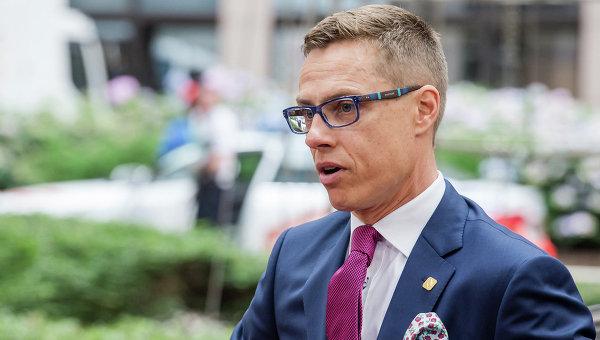 Премьер-министр Финляндии Александр Стубб. Архивное фото