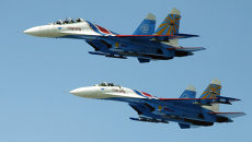 Тренировочные полеты пилотажных групп ВВС