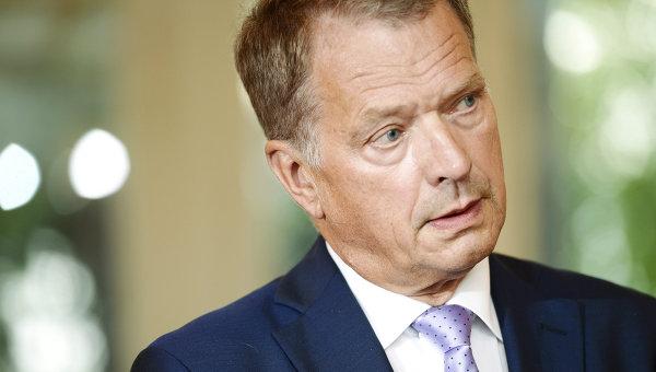 Президент Финляндии Саули Нийнистё. Архивное фото