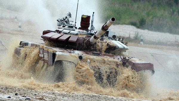 Танковый биатлон-2014, архивное фото
