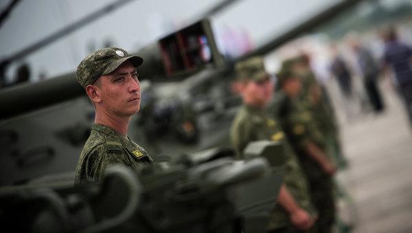 Военная техника представлена на выставке Оборонэкспо-2014