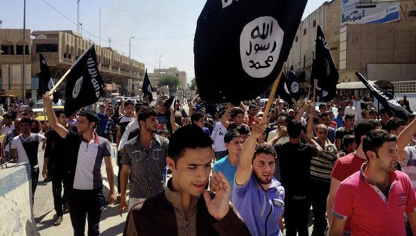 Сторонники Исламского государства Ирака и Леванта в Багдаде