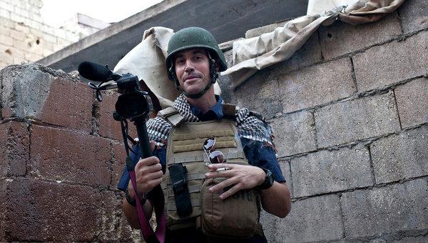 Американский военный журналист Джеймс Фоули