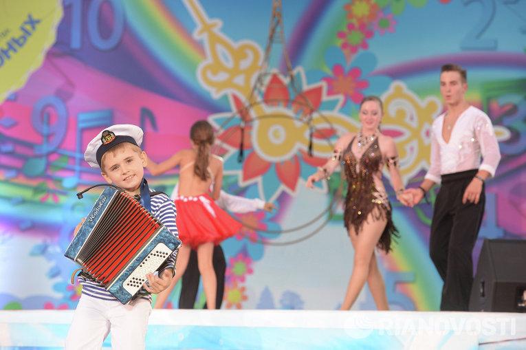 Фестиваль Союзного государства Творчество юных в Анапе