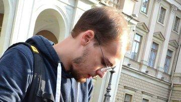 Корреспондент радио Эхо Москвы в Петербурге Арсений Веснин