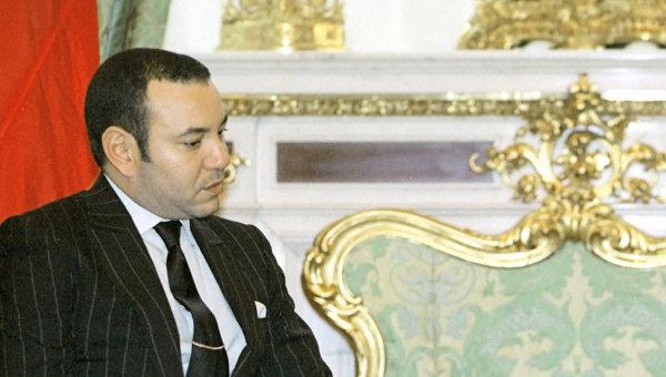 Король Марокко Мухаммед VI. Архивное фото