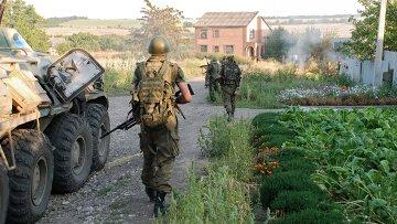 Ситуация в городе Иловайске Донецкой области. Архивное фото