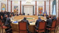 Встреча в Белоруссии. Архивное фото