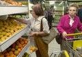 Женщины в супермаркете в Каракасе