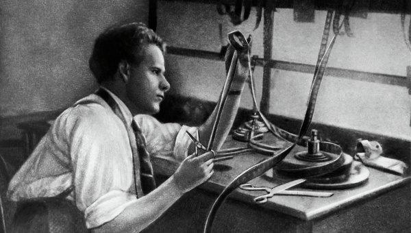 Советский режиссер С.М. Эйзенштейн. Архивное фото