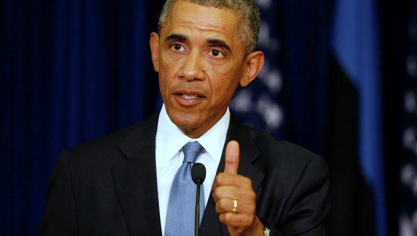 Президент Соединенных Штатов Америки Барак Обама, архивное фото