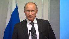 Путин раскрыл детали плана по разрешению кризиса на востоке Украины
