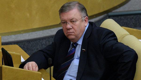 Председатель комитета Государственной Думы РФ по обороне Владимир Комоедов