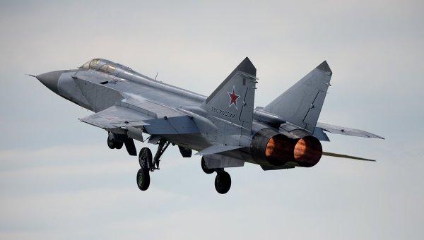 Истребитель-перехватчик МиГ-31. Архивное фото