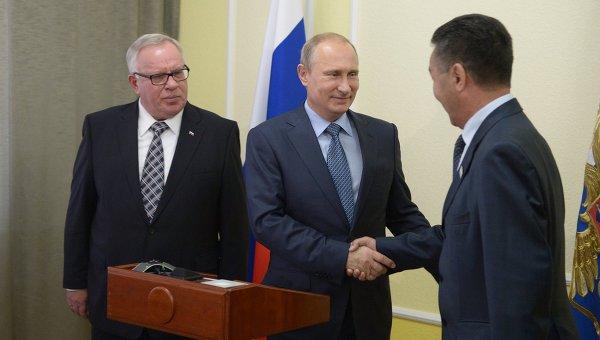 Рабочий визит В.Путина в Республику Алтай