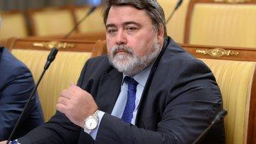 Руководитель Федеральной антимонопольной службы РФ Игорь Артемьев. Архивное фото