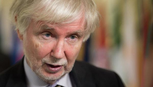 Глава МИД Финляндии Эркки Туомиоя. Архивное фото