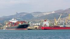 Морской порт в России. Архивное фото