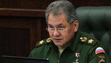 Министр обороны Сергей Шойгу. Министерство обороны Российской Федерации. Архивное фото