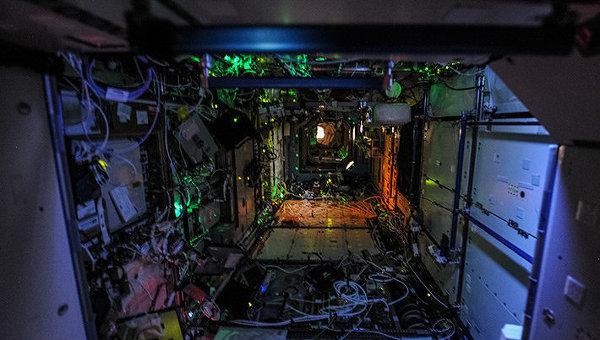 Ночь на МКС. Архивное фото