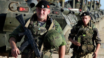 Военнослужащие во время проверки боевой готовности войск Восточного военного округа. Архивное фото