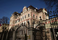 Здание Российского посольства в Латвии