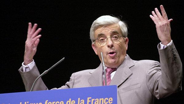 Французский сенатор и спецпредставитель МИД Франции по связям с Россией Жан-Пьер Шевенман